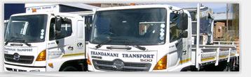 Thandanani Transport Welcome